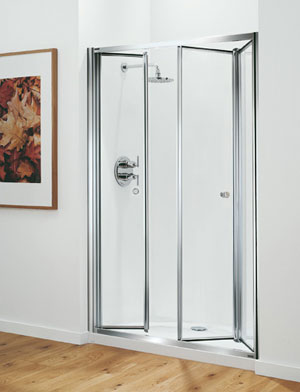 Coram Tri-Fold Shower Doors