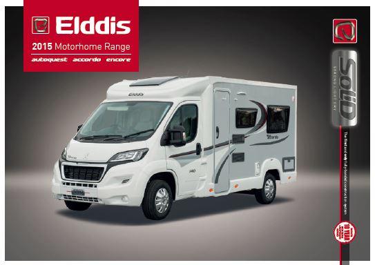 Elddis 2015 Brochure